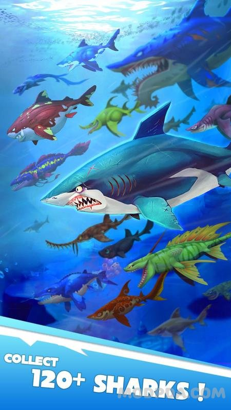 hungry shark apk download ios