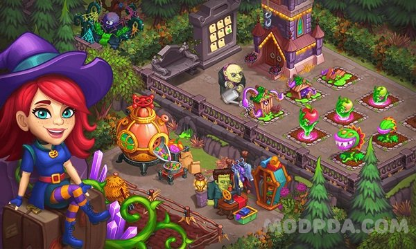Download Monster Farm: Happy Halloween Game & Ghost Village