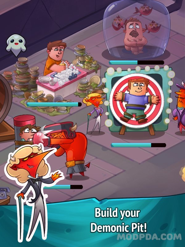 Download Idle Hell Clicker Pro HACK/MOD Infinite Diamond for