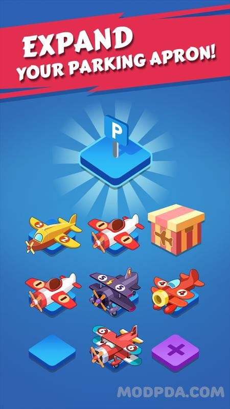 Download Merge Plane HACK/MOD gems / vip for Android