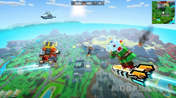Download Pixel Gun 3D HACK/MOD free shopping for Android