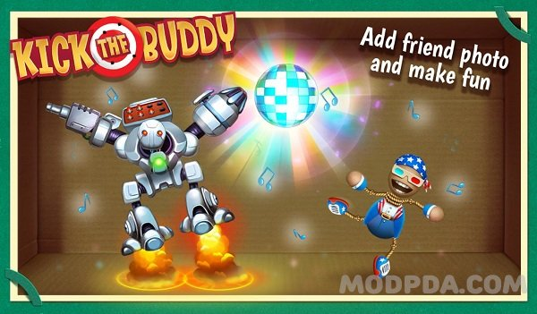 Download Kick the Buddy HACK/MOD Money for Android