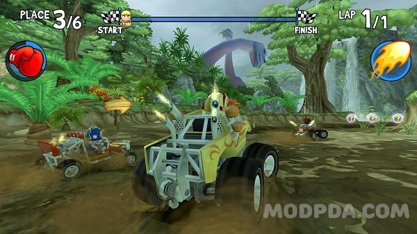 Download BEACH BUGGY RACING HACK/MOD Money for Android