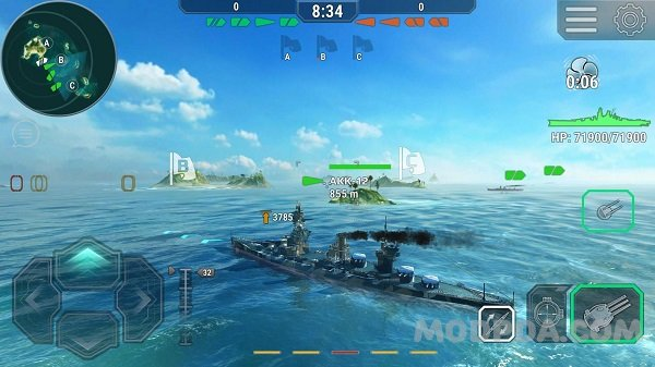 Download Warship Universe: Naval Battle HACK/MOD Money for Android