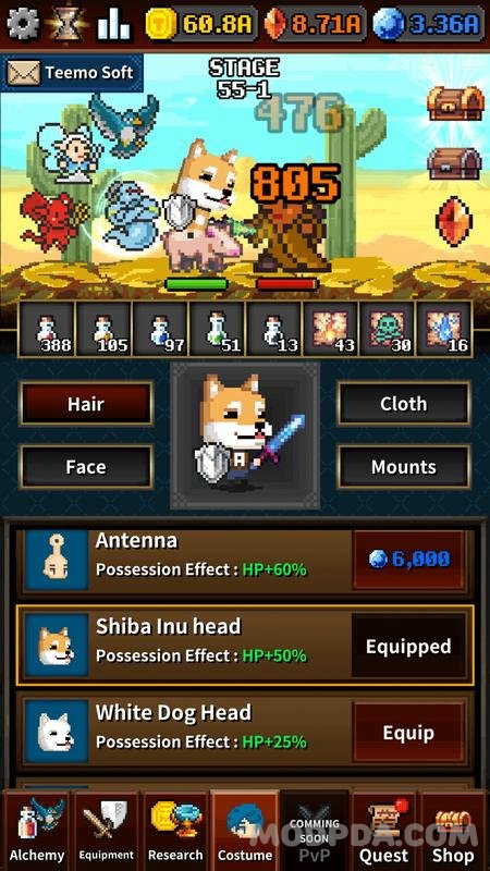 Download Dungeon & Alchemist HACK/MOD for Android