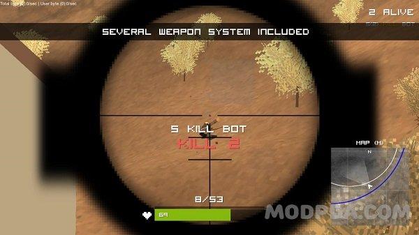 download pubg pixel mod