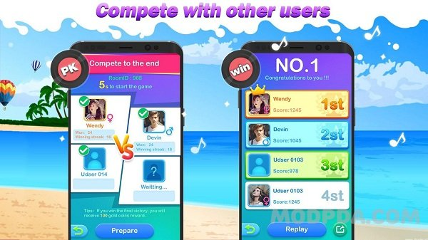Download Dream Piano - music game HACK/MOD for Android