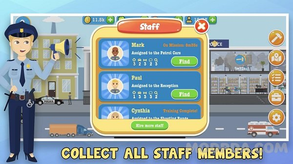 Download Police Inc: Idle police station tycoon game HACK ...
