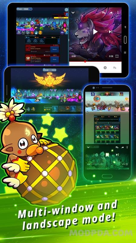 Download Catch Idle - Epic Clicker RPG HACK/MOD Money for Android