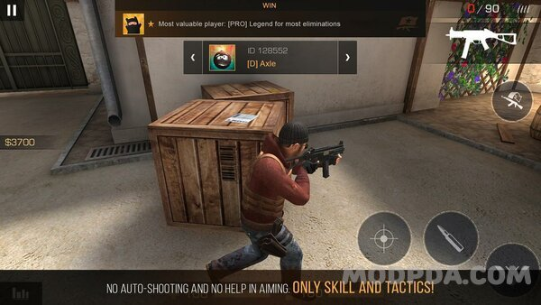 Download Standoff 2 HACK/MOD Immortality for Android