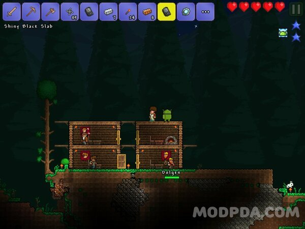 download terraria android hack