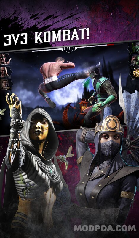 Download Mortal Kombat X HACK/MOD Everything is open for Android