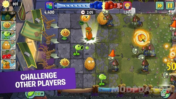 plants vs zombies mod apk hack
