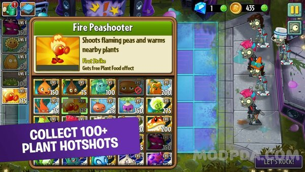 plants vs zombies 2 apk mod hack