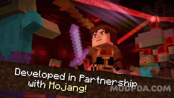 Download Minecraft: Story Mode HACK/MOD for Android