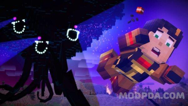 download minecraft story mode season mod apk