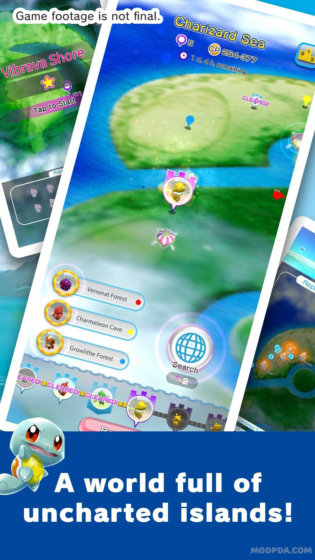 Download Pokémon Rumble Rush HACK/MOD Of life for Android