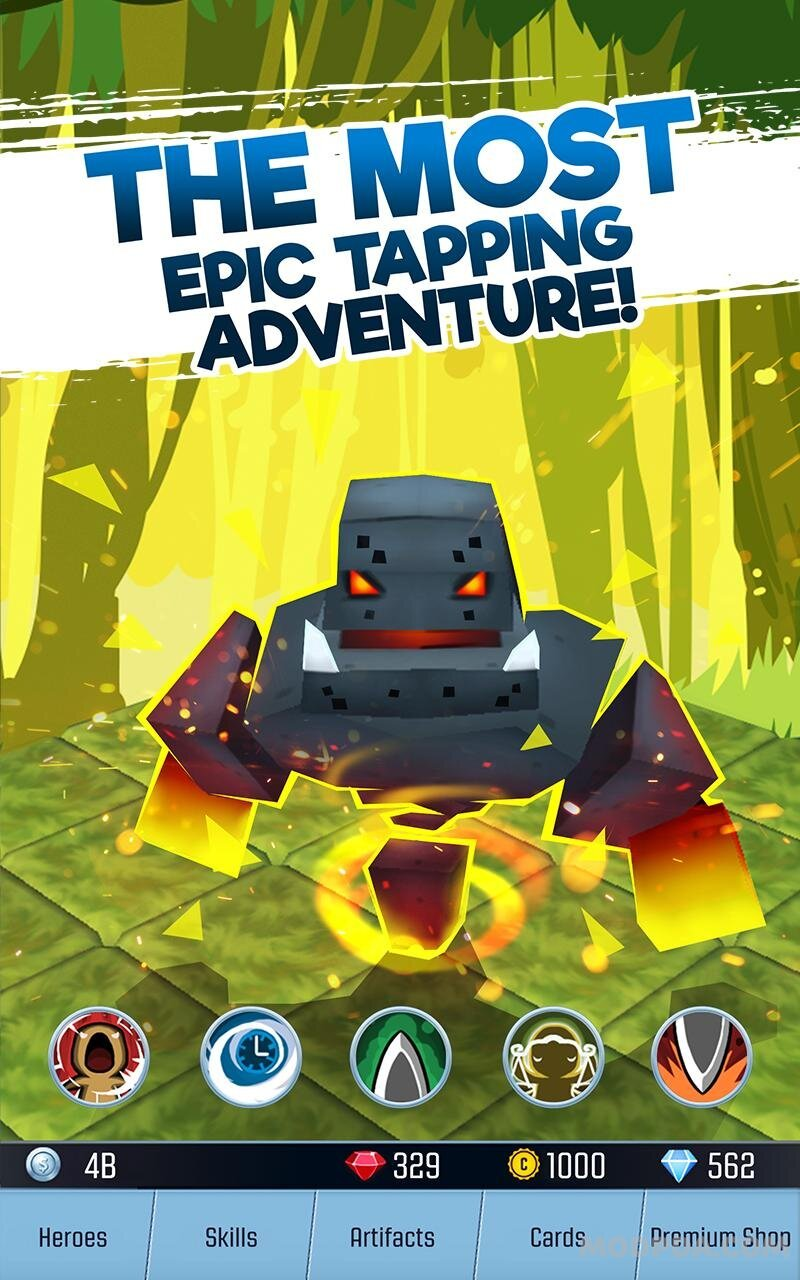 Download Tap Adventure Hero: Idle RPG Clicker, Fun Fantasy