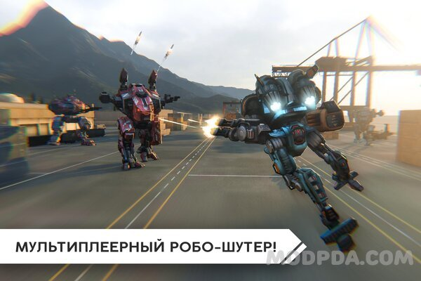 Download Robot Warfare: Mech battle HACK/MOD Ammo for Android
