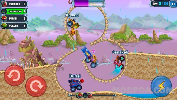 Download Car Eats Car Multiplayer Hack Mod For Android