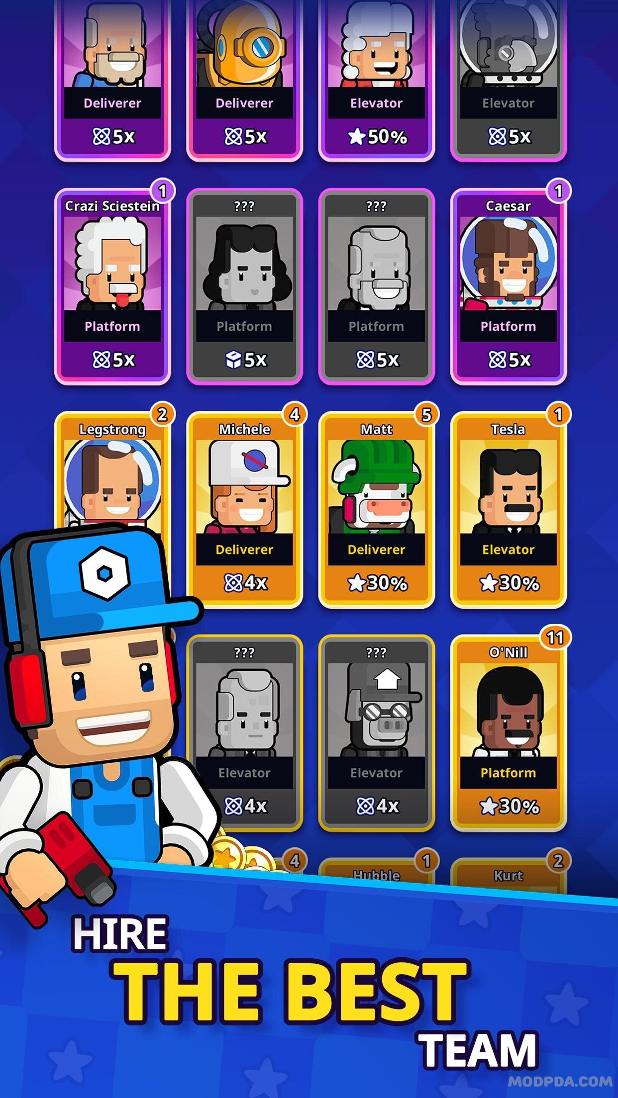 Download Rocket Star - Idle Space Factory Tycoon Games HACK