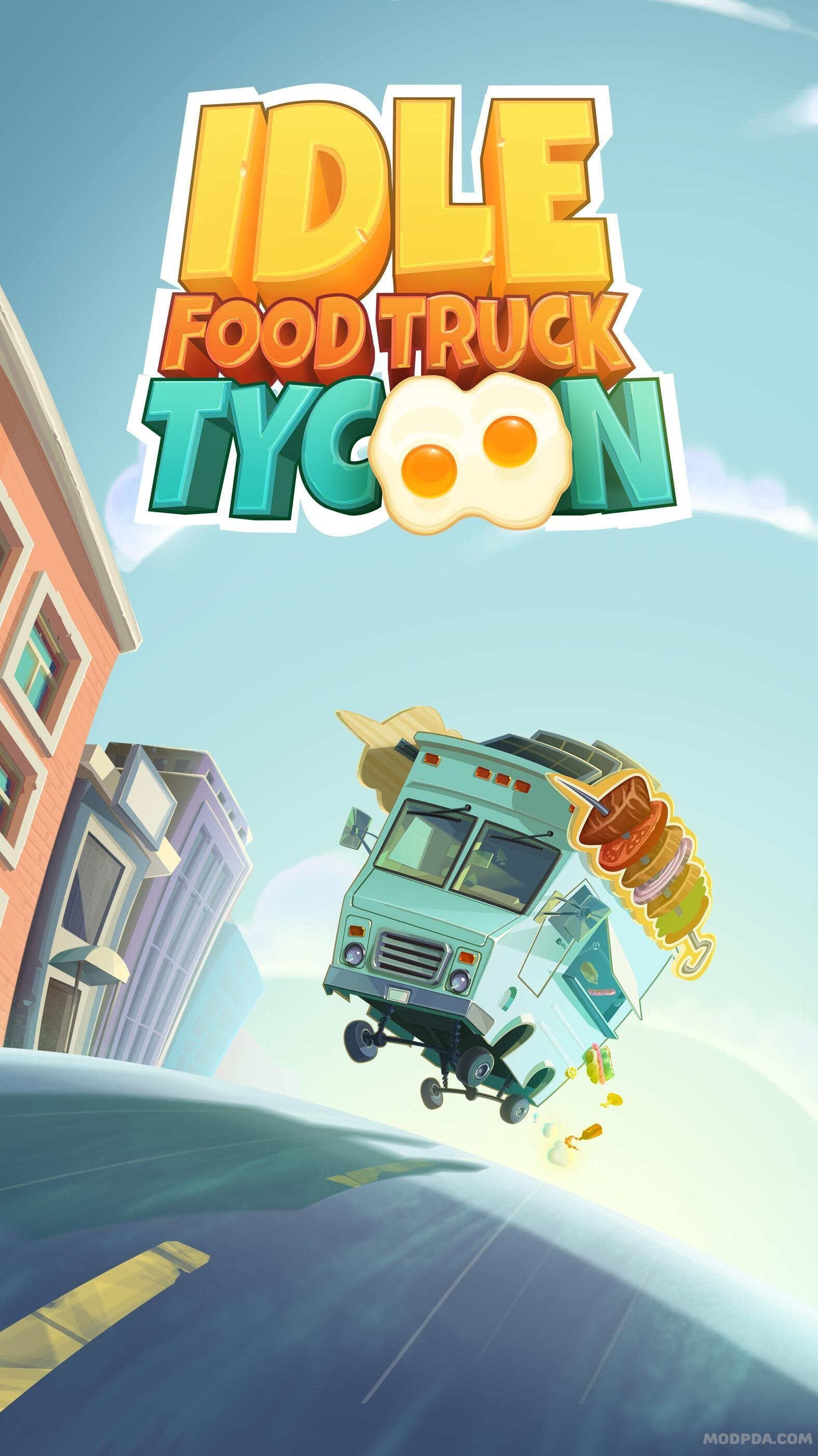 Download Idle Food Truck Tycoon™ HACK/MOD for Android