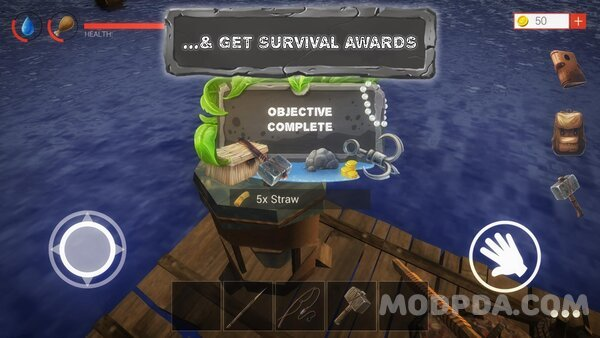 Download Raft Survival Ark Simulator HACK/MOD Coins for Android