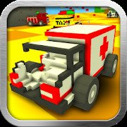 Blocky Demolition Derby [MOD: money and cars] 2.03