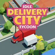 Idle Delivery City Tycoon: Cargo Transit Empire [ВЗЛОМ: Бесконечные Деньги] 3.4.5