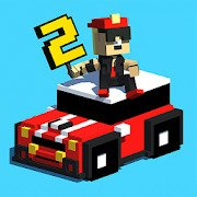 Smashy Road: Wanted 2 [MOD: Many Coins] 1.22