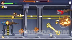 Jetpack Joyride 2: Bullet Rush screenshot №5